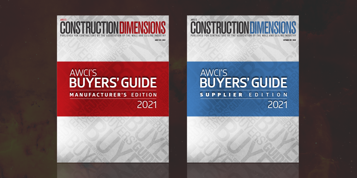 AWCI's Annual Buyers Guide