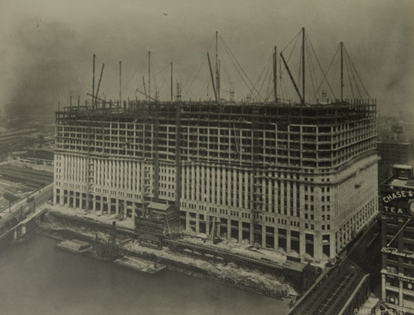 One of the largest projects in the 1920s, Chicago's Merchandise Mart began in 1928. McNulty Bros., a CPIA member, had the interior plastering contract.