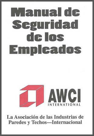 AWCI Employee Safety Handbook, Spanish Edition.