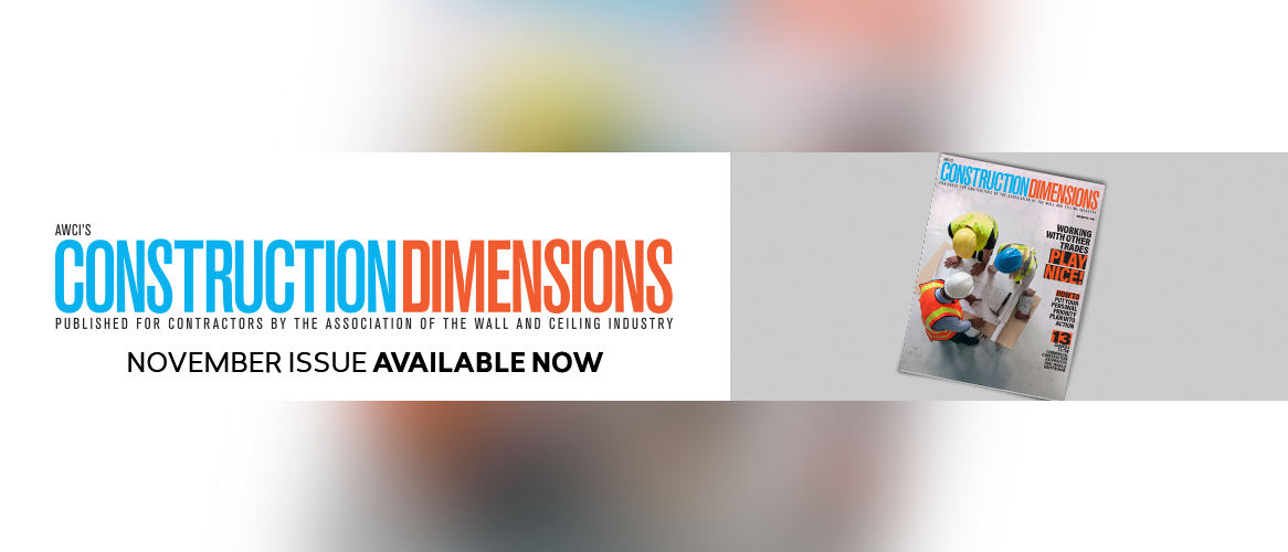 Construction Dimensions Available Now