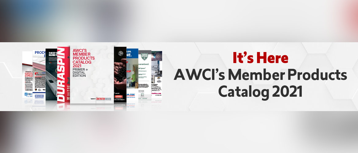 AWCI's Construction Dimensions Member Products Catalog