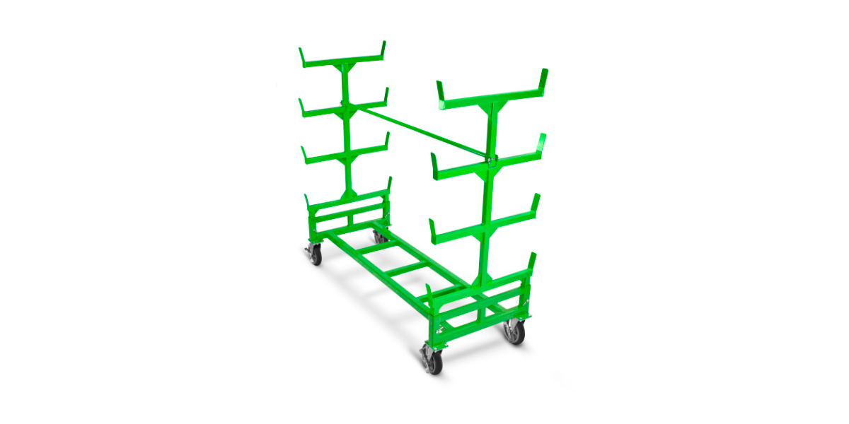 Lean Construction Material Handling Carts