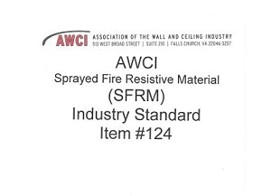 AWCI Sprayed Fire Resistive Material (SFRM) Industry Standards - 116