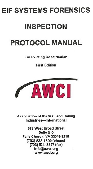EIFS Forensics Inspection Protocol Manual (First Edition) - 118